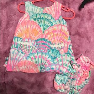 Lilly Pulitzer Baby Shift Dress 6-12
